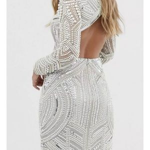 Beautiful ASOS EDITION SEQUIN AND PEARL